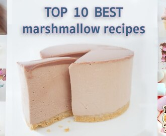 TOP 10 BEST MARSHMALLOW RECIPES IN 10 Minutes How To Cook That Ann Reardon
