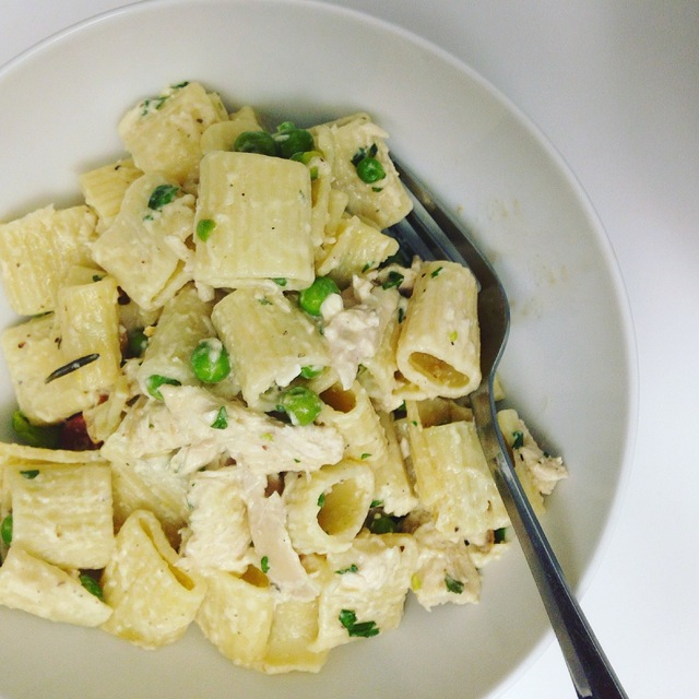 Leftover Chicken recipe: Ceamy Lemon and Chicken pasta