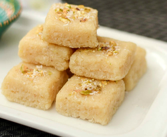 Coconut Burfi Recipe | Coconut Burfi Uing Mawa | Easy Diwali Sweet Recipe Ideas
