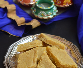 Carrot Burfi - Easy Diwali Sweets