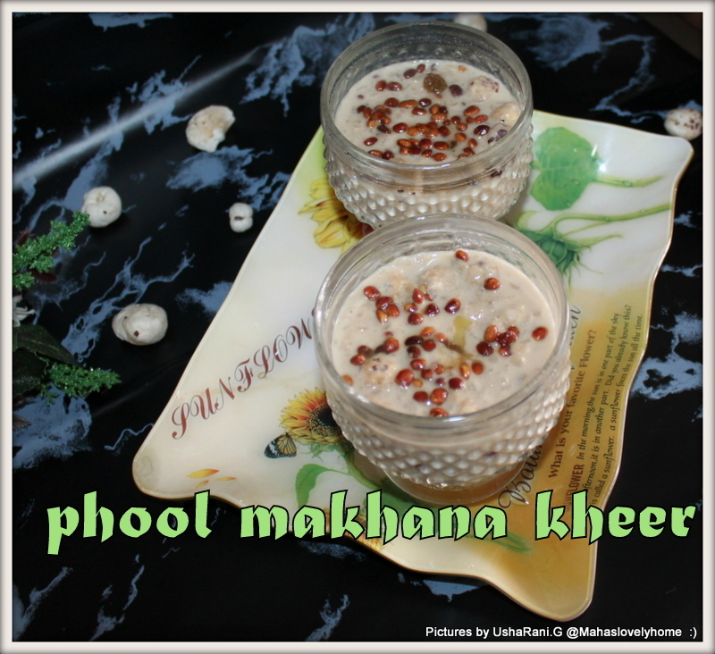 Phool Makhana Poha Kheer | Phool makhana atukula payasam | Quick and easy Payasam recipes | Easy Diwali sweets
