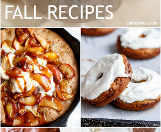 15 Sweet Fall Recipes