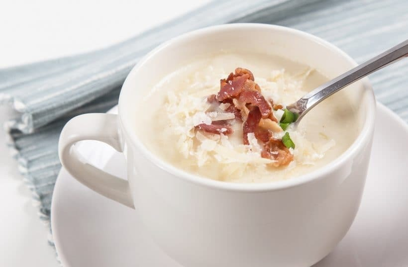 Pressure Cooker Cauliflower Potato Soup Recipe Ingredients