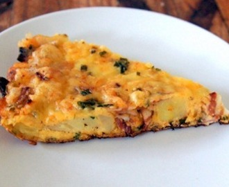 Lunchbox Bakes - Potato, Bacon and Cheese Frittata