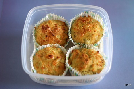 Lunchbox Bakes – Pesto and Feta Muffins
