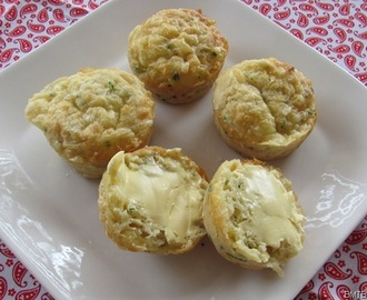 Cheese and Chive Muffins