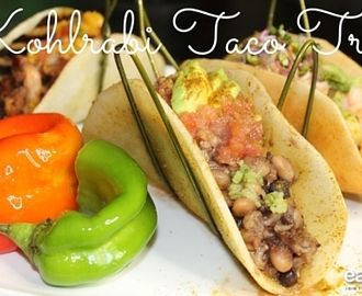 Kohlrabi Taco Trio – 2015 PMA (Produce Marketing Association) Sensory Contest Finalist