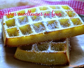 Gaufre nature au four