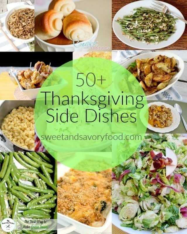 50+ Thanksgiving Side Dishes