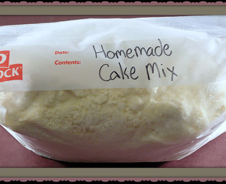 Home Made Cake Mix