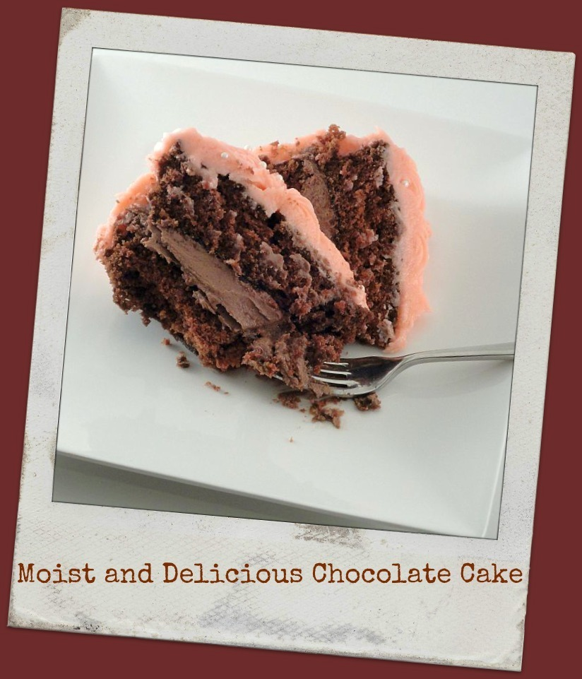 Moist and Delicious Chocolate Cake