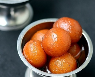 Gulab Jamun Recipe With Khoya - Diwali Sweets Recipes