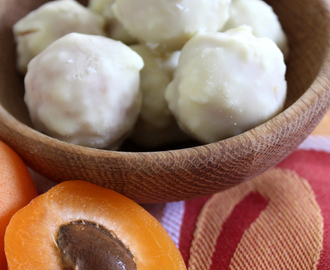 White Chocolate and Apricot Balls
