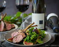 Coffee and Herb-rubbed Lamb Chops paired with The Hess Collection Small Block Syrah