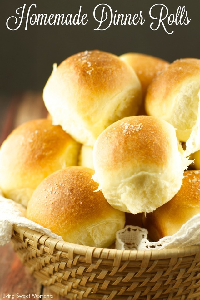 Homemade Dinner Rolls + Tutorial