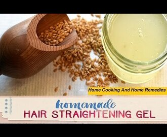 Homemade Hair Straightening Gel/HOW TO MAKE Homemade Hair Straightening Gel