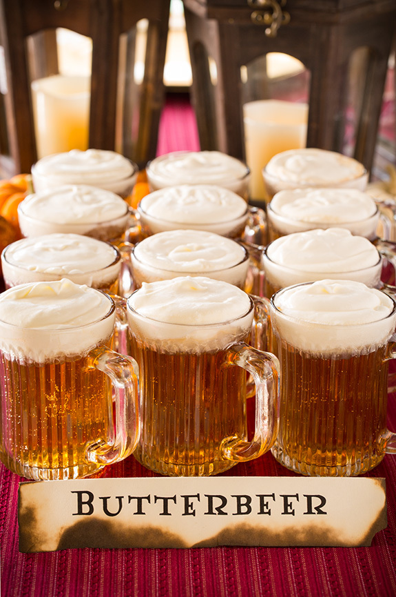 Butterbeer Recipe and a Harry Potter Party