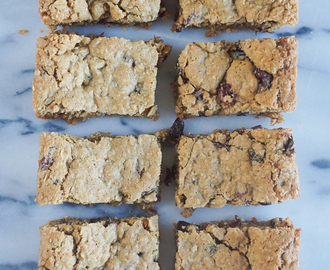 To-Die-For Cranberry Oat Bars