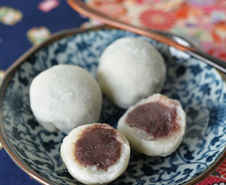 Easy Japanese Sweet Mochi / Daifuku 大福