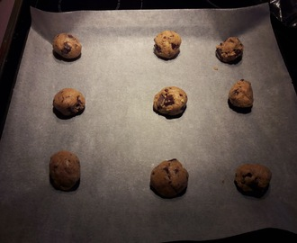 Glutenfrie chocolate chip cookies