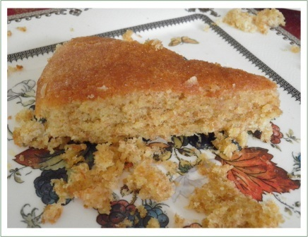 Wholemeal lemon cake