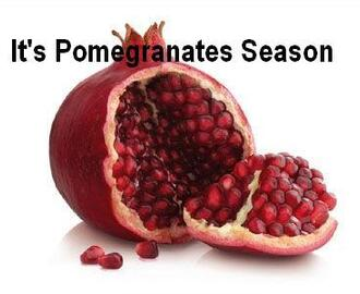 It's Pomegranate Season! Celebrate With 3 Recipes! A Chicken Meal, A Salad, & A Warm Pomegranate Cider!