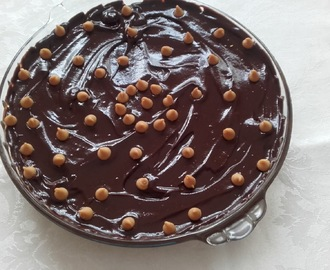 Cheesecake de manteiga de amendoim e chocolate