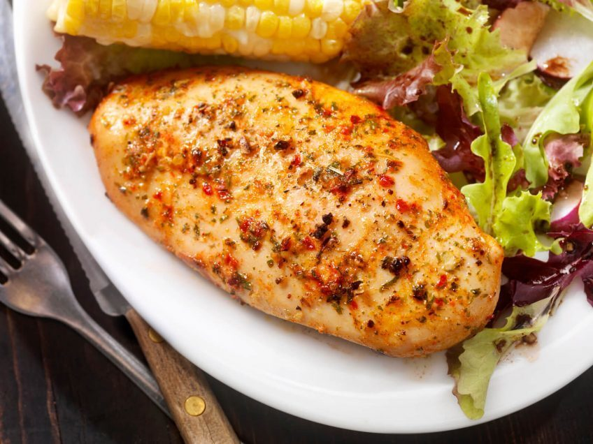 Stuffed Cajun Chicken Breast
