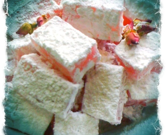 How to make Rose Turkish Delights (Lokum), and Sweet New Zealand