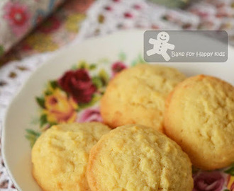 Milky Cream Cheese Cookies