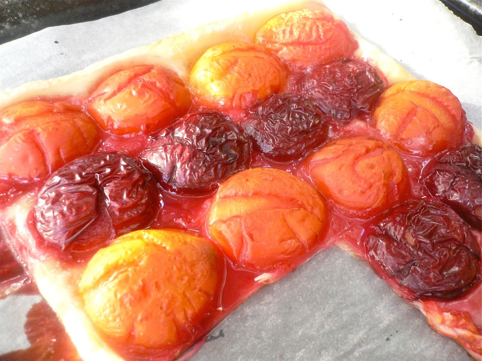 Super Easy and Quick, but Impressive and Delicious Plum Tart
