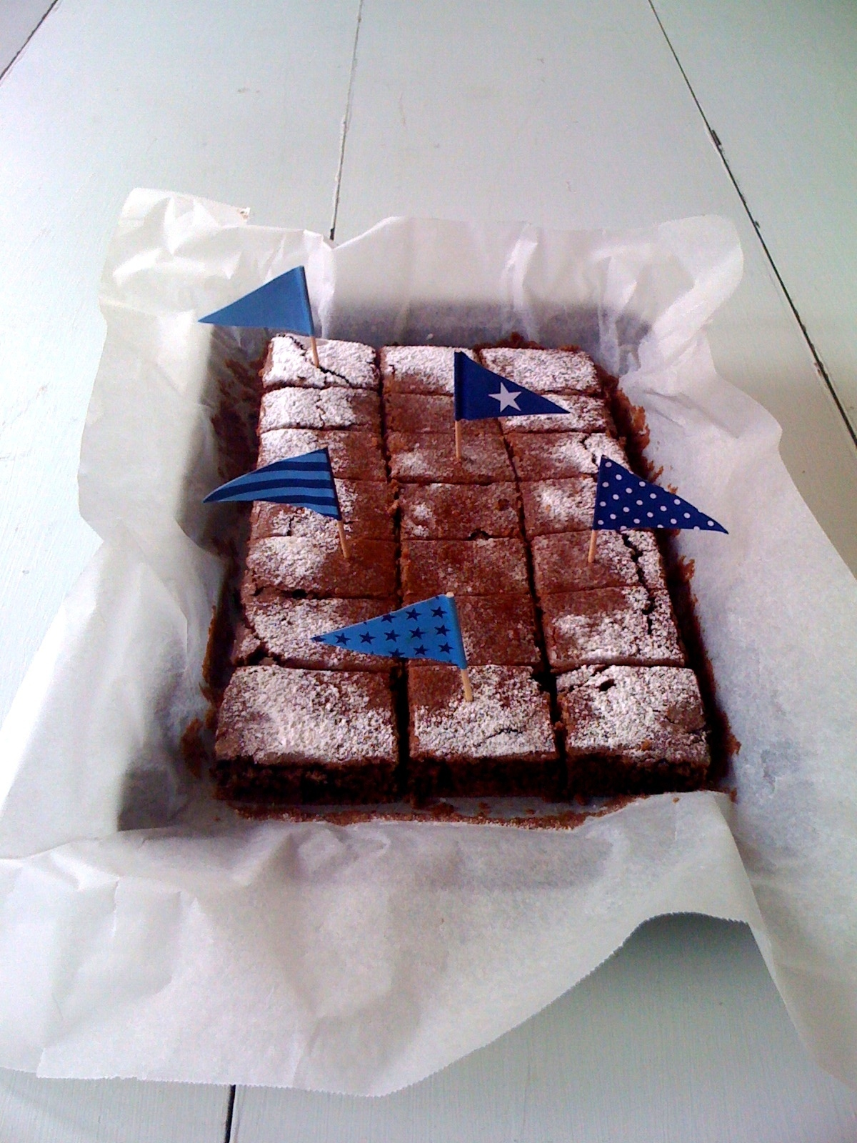 Vegan chocolate brownie... and remember Sweet New Zealand, 3 days to go!