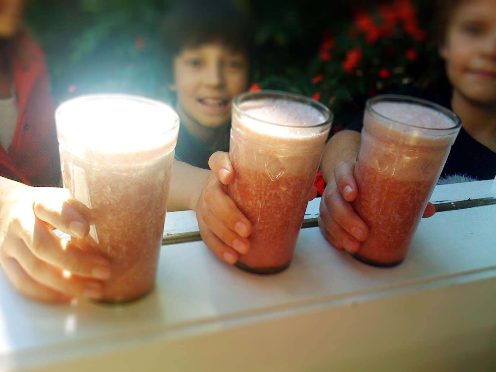 Fruit smoothies: a bit of sunshine in a glass!