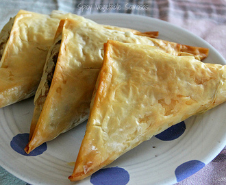 "Spicy Vegetable ""Samosas"""