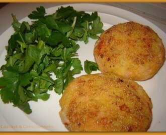 The Kitchen Blackboard & Hot-Smoked Salmon Cakes Recipe