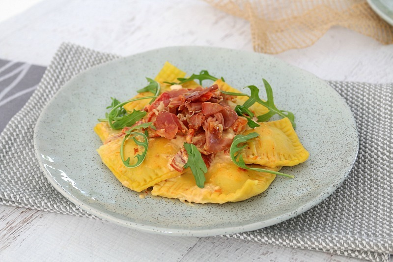 Thermomix Pumpkin Ravioli