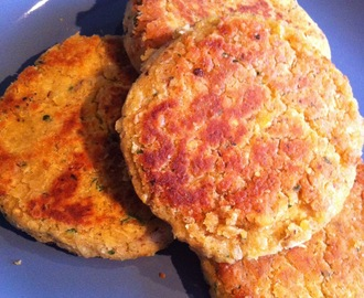 Lentil and Chickpea Patties