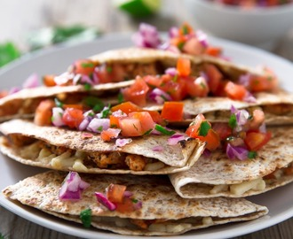 Quesadillas Veganas
