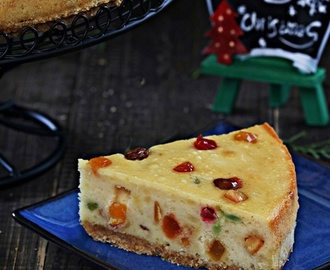 Mixed Fruit Cheesecake 杂果乳酪蛋糕