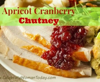Apricot Cranberry Chutney – {Day 7} #12DaysOf Thanksgiving #Recipes #Crafts