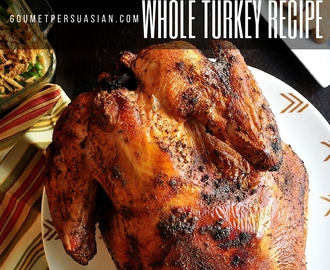 Easy Grilled Whole Turkey Recipe