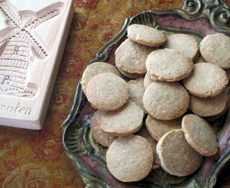 Speculaas ( Dutch Windmill Cookies)