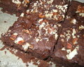 Brownies haricots noirs