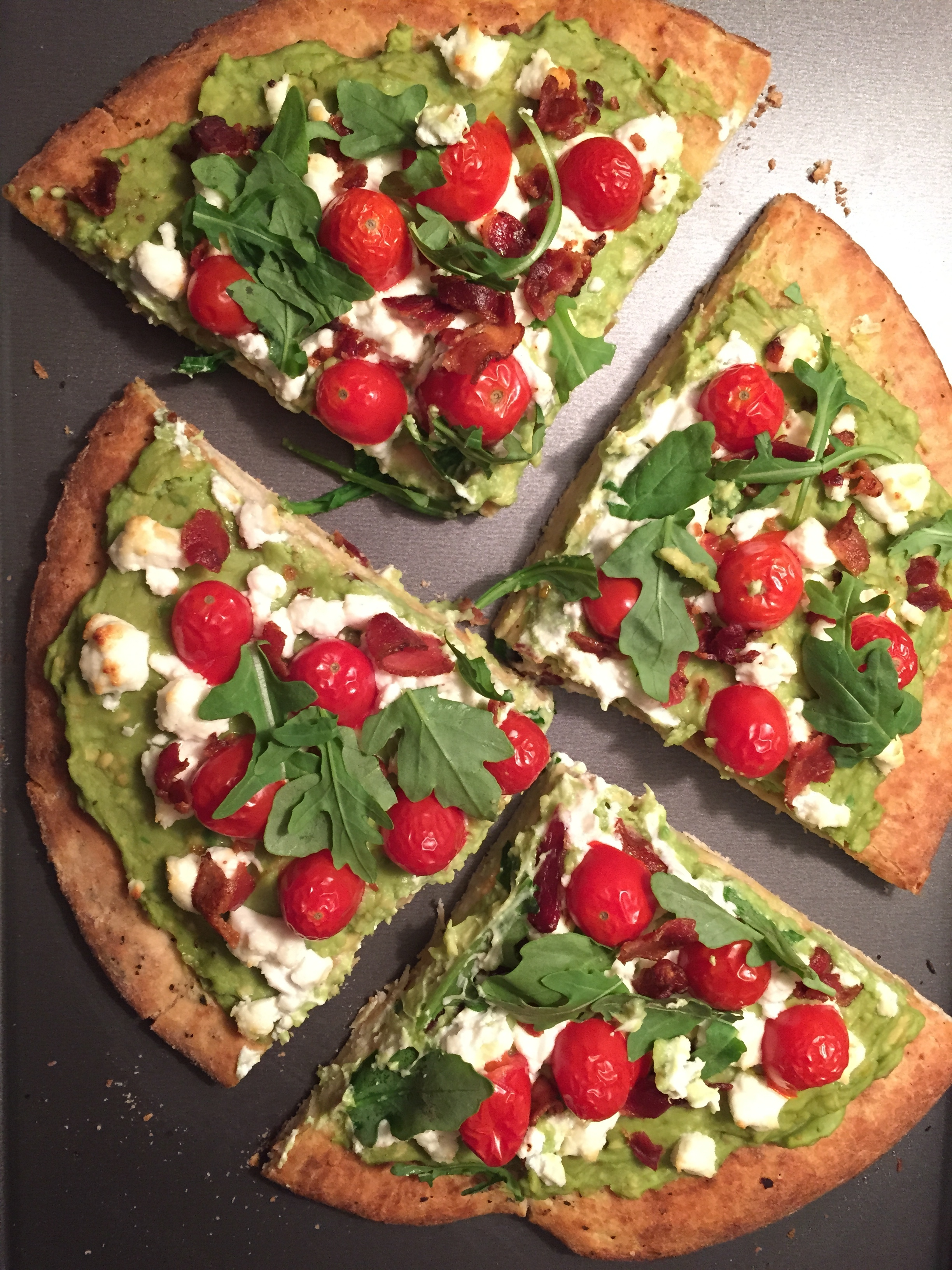 Avocado BLT Pizza