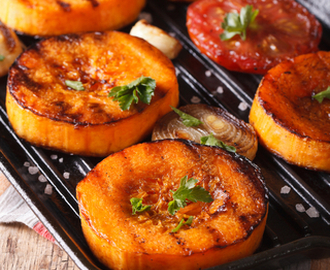Balsamic Butternut Squash with Garlic