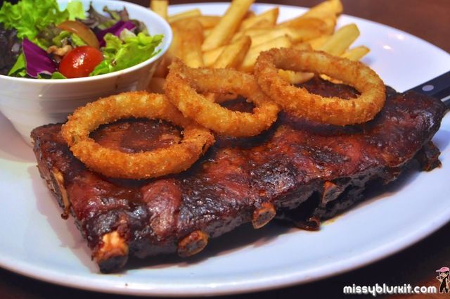 Pork Ribs @ Three Little Pigs & The Big Bad Wolf