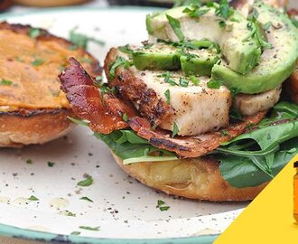 Chicken, Bacon & Avocado Sandwich
