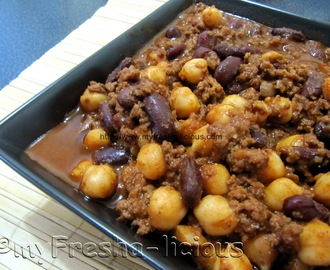 Spicy Beef & Beans Stew