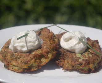 Summer's Bounty: Zucchini Fritters