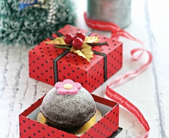 Banana Chocolate Dome Cake & Christmas Gift Giveaway